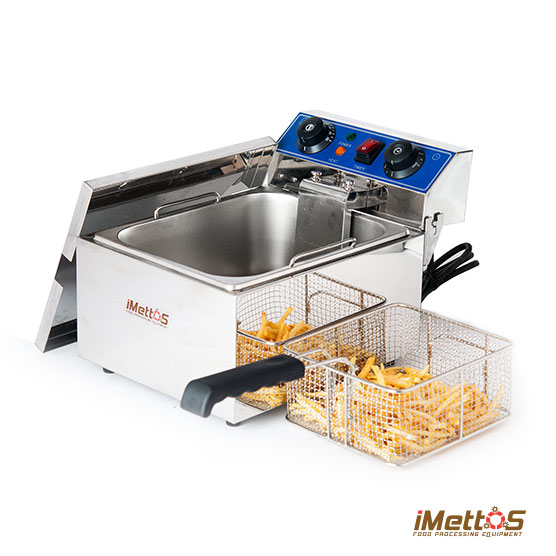 Counter-top Single Tank Electric Fryer from iMettos Food Equipment