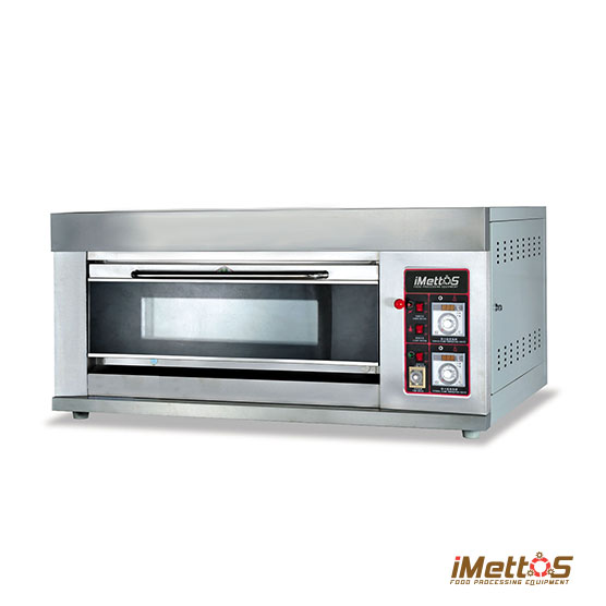 bakery gas oven commercial pizza oven with glass observation window - Commercial Pizza Oven