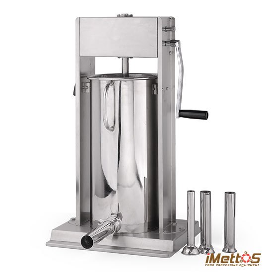 Max Capacity 44LBS/20L Manual Sausage stuffer