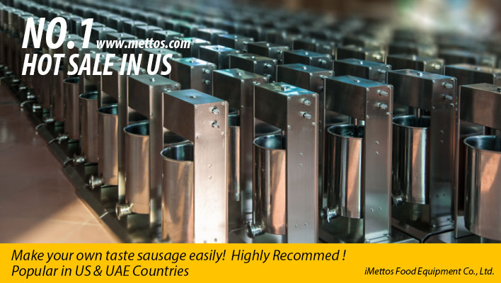 HOT SALE IN US: SAUSAGE STUFFER FILLER